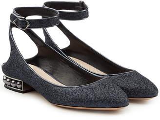 Strap Uk Flats Shopstyle Ankle Ballerina lK1JFTc