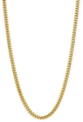 "Bloomingdale's Men's Classic Curb Chain Necklace in 14K Yellow Gold, 24"" - 100% Exclusive"