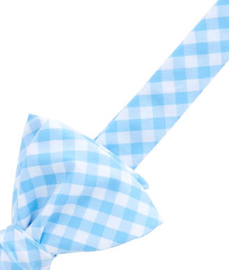 Vineyard Vines Elmont Gingham Woven Bow Tie