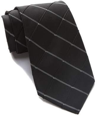 Calvin Klein Waffle Windowpane Tie