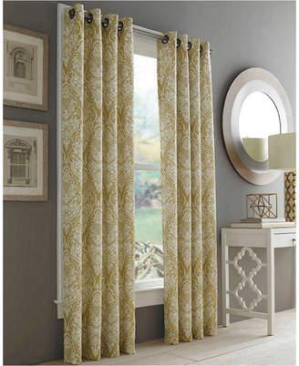 """J Queen New York Roosevelt 50"""" x 108"""" Grommet Curtain Panel"""