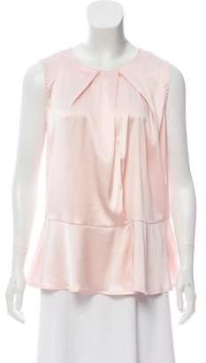 0039 Italy Dafnela Silk Top w/ Tags