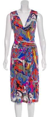 Etro Printed Midi Dress
