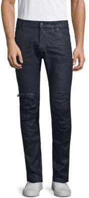 G Star Zip Knee Skinny Pants