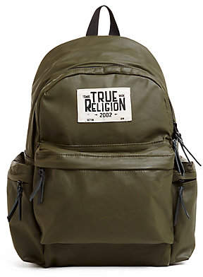 True Religion Scout Coated Backpack