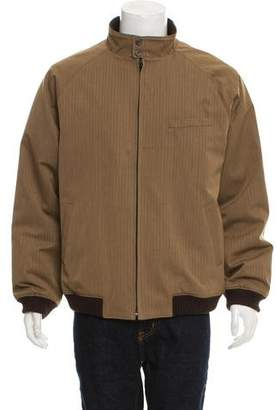 Saks Fifth Avenue Lightweight Zip-Up Bomber Jacket