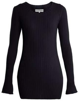 Apiece Apart Second Skin ribbed-knit cotton top