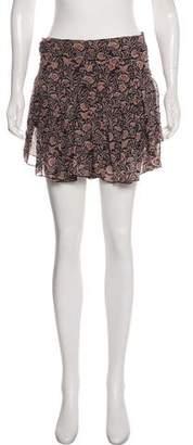 Etoile Isabel Marant Pleated Chiffon Mini Skirt