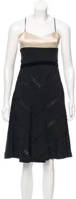 Prada Paneled A-Line Dress
