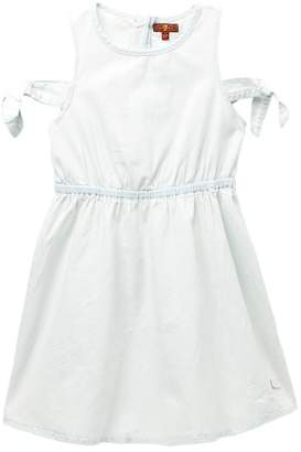7 For All Mankind Chambray Dress (Big Girls)