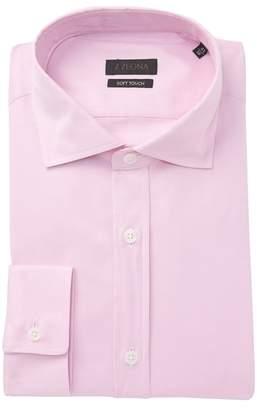 Ermenegildo Zegna Solid Soft Touch Dress Shirt