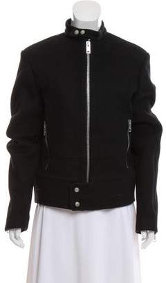 Gucci Zipper-Accented Wool Jacket