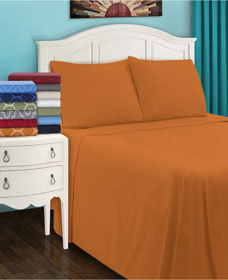 Superior Flannel Cotton Sheet Set - Twin Xl - White Bedding