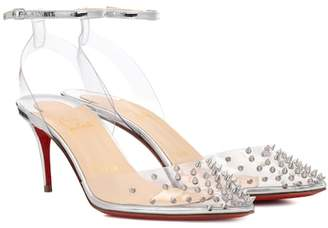 Christian Louboutin Spikoo 70 embellished pumps