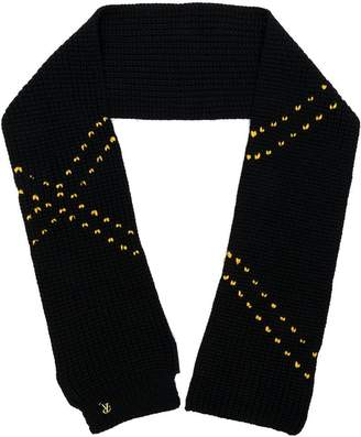Raf Simons Striped Wool Scarf