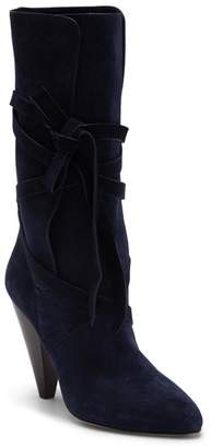 Veronica Beard Hall Crisscross Tie Boot