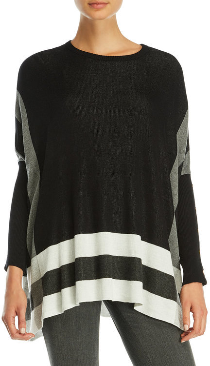 joseph a Dolman Sleeve Stripe Sweater