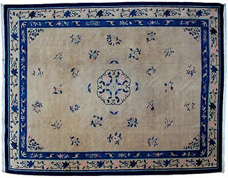 """One Kings Lane Vintage Antique Chinese Carpet - 9'2"""" x 11'10"""" - R. Banilivi and Son"""