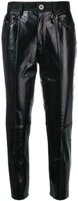 Diesel L-Giko-A cropped trousers