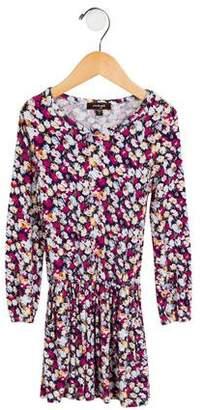 Imoga Girls' Floral A-Line Dress