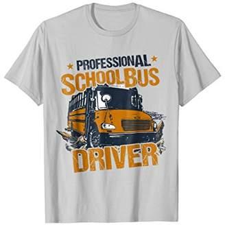 T-Shirt Professional School Bus Driver Wild Vintage Look