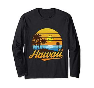 Hawaii Honolulu Beach Island Vacation Long Sleeve T-Shirt