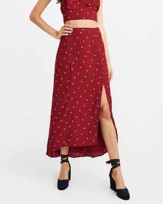 Abercrombie & Fitch Column Maxi Skirt