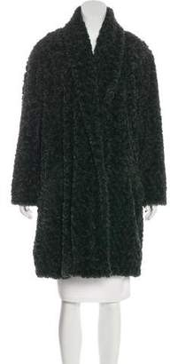 Etoile Isabel Marant Faux Fur Knee-Length Coat