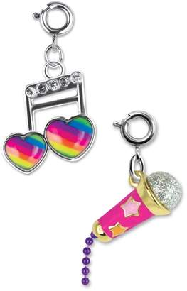 High Intencity CHARM IT!(R) 2-Pack Musical Note & Microphone Charms