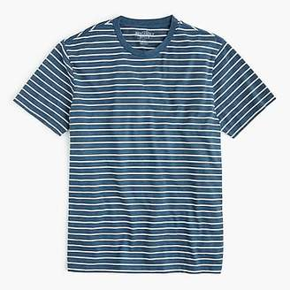 J.Crew Tall Mercantile Broken-in T-shirt in blue heather stripe