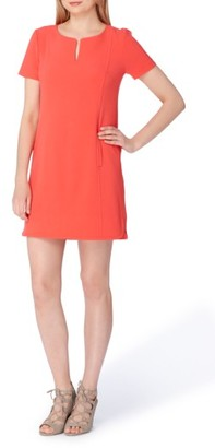 Women's Tahari Notch Neck Sheath Dress $118 thestylecure.com