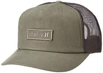 Hurley Men's Waxed Canvas Trucker Baseball Cap