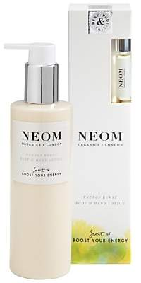Neom Organics London Energy Burst Body & Hand Lotion, 250ml