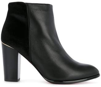 Loveless panel ankle boots