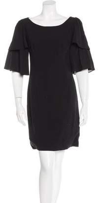 Loeffler Randall Wool Mini Dress