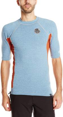 Rip Curl Men's Aggrolite Uv Short Sleeve T-Shirt Rashguard