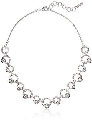 "Nine West Women's -Tone 16"" Frontal Necklace"