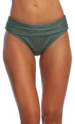 Kenneth Cole Reaction Luxury Rib Banded Hipster Bikini Bottom