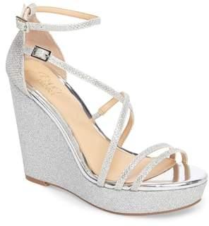Badgley Mischka Tatsu Wedge Sandal
