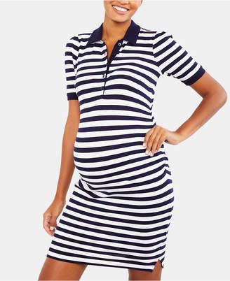 Motherhood Maternity Collared Dress