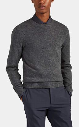Prada Men's Cashmere Crewneck Sweater - Charcoal