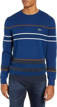 Lacoste Regular Fit Multistripe Sweater