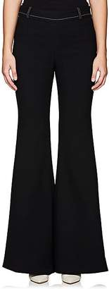 BY. Bonnie Young BY. BONNIE YOUNG WOMEN'S WOOL CREPE FLARED PANTS - BLACK SIZE 2