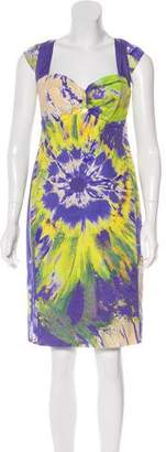 Blumarine Printed Knee-Length Dress