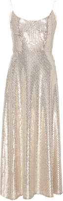 Markarian Exclusive Heart of Glass Sequin-Embellished Silk Midi Dress