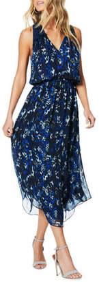 Ramy Brook Moe Printed Sleeveless Midi Dress