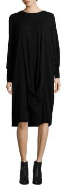 DKNY Solid Cocoon Dress