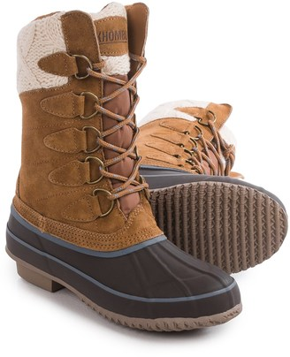 Khombu Cozy Pac Boots - Waterproof, Suede (For Women) $39.99 thestylecure.com