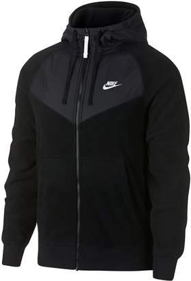 Nike Men's Cheveron Full-Zip Hoodie