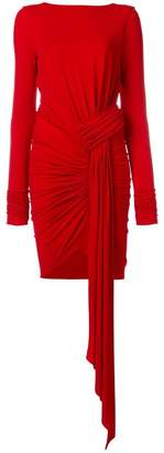 Alexandre Vauthier ruched jersey dress